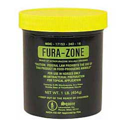 Fura-Zone Nitrofurazone Dressing for Animal Use Squire Laboratories